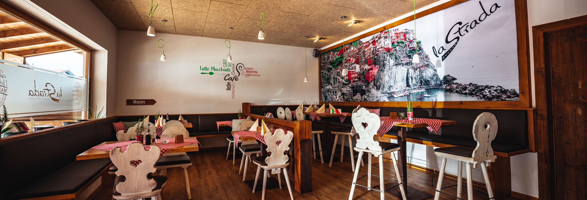 La Strada Restaurant Inneneinrichtung